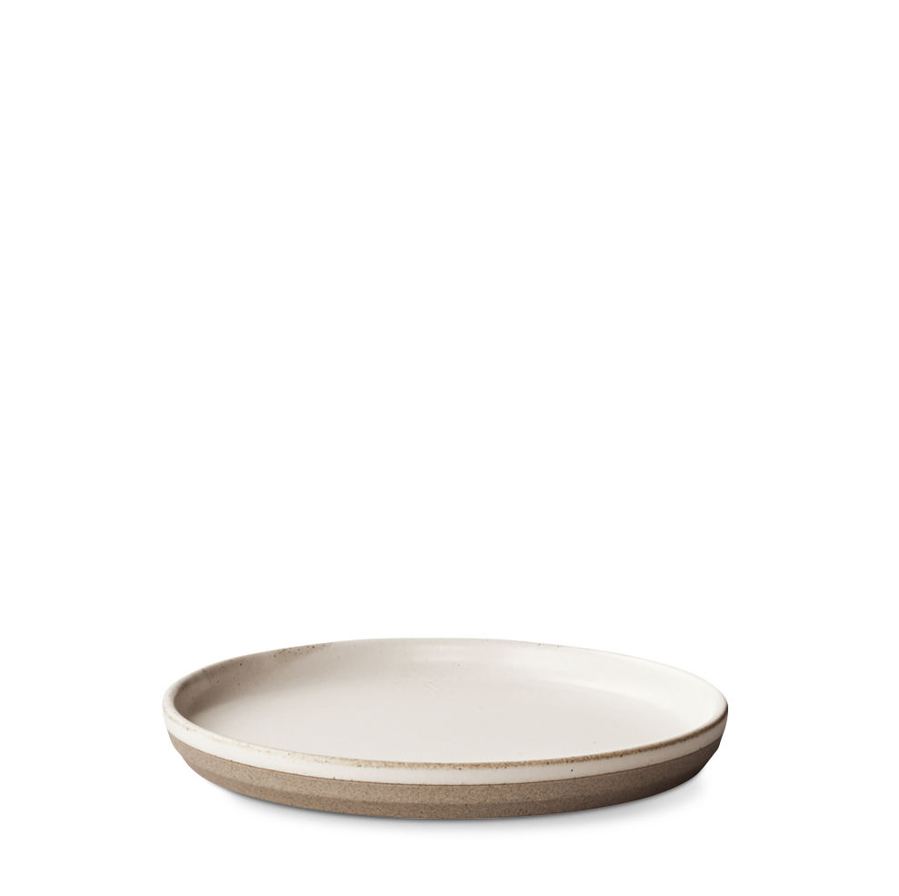 Ceramic Lab Salad/ Dessert Plate- White