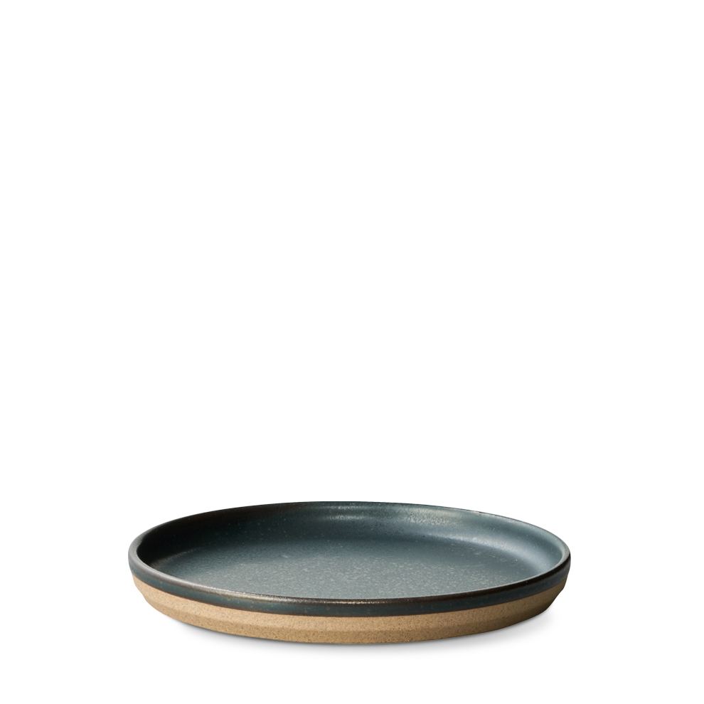 Ceramic Lab Salad/ Dessert Plate- Black