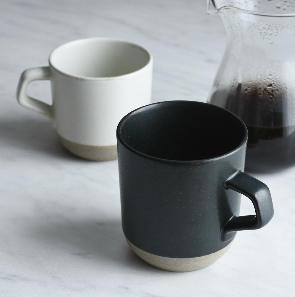 Large Ceramic Lab Mug- Black
