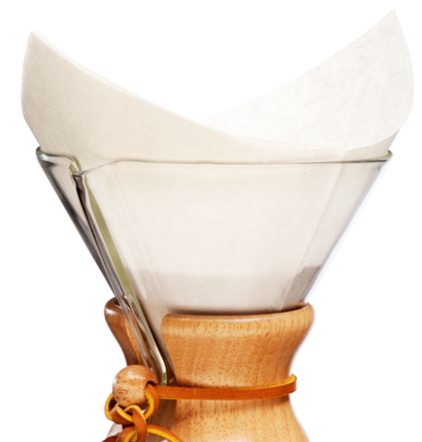 Chemex 6 Cup Filters- Pre Folded Squares