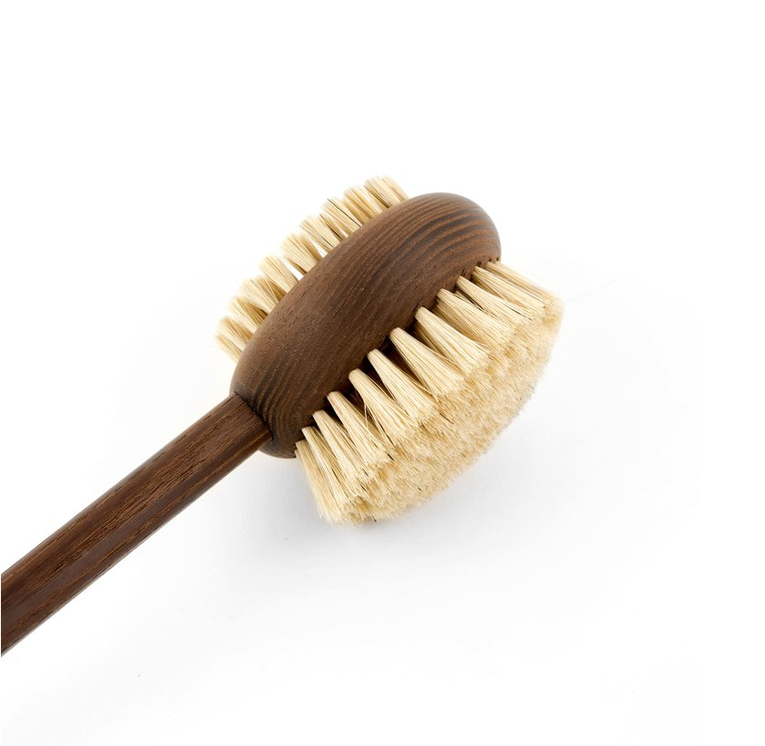 Handled Bath and Body Brush in Heritage Ash Wood
