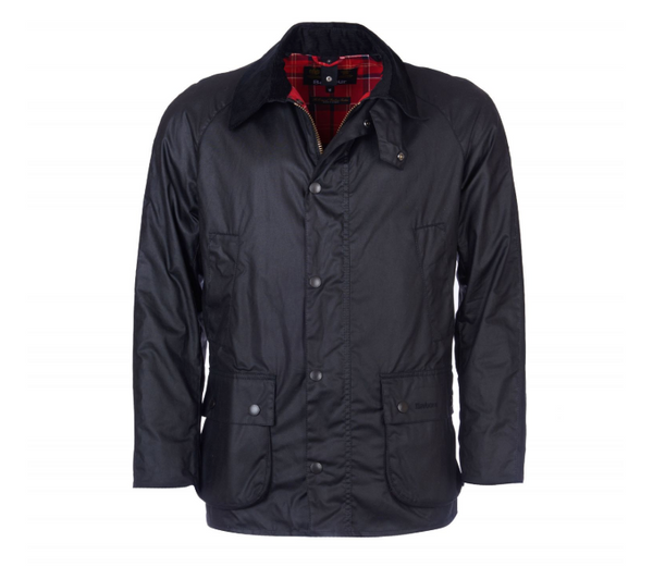 Ashby Wax Jacket, Black