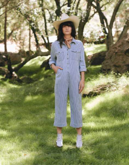 The Cropped Boiler Suit