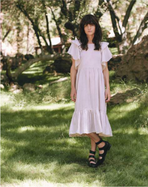 The Jig Dress, Pale Quartz