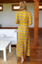 Frances Dress, Marigold Yellow