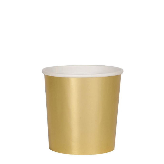Small Gold Tumbler Cup