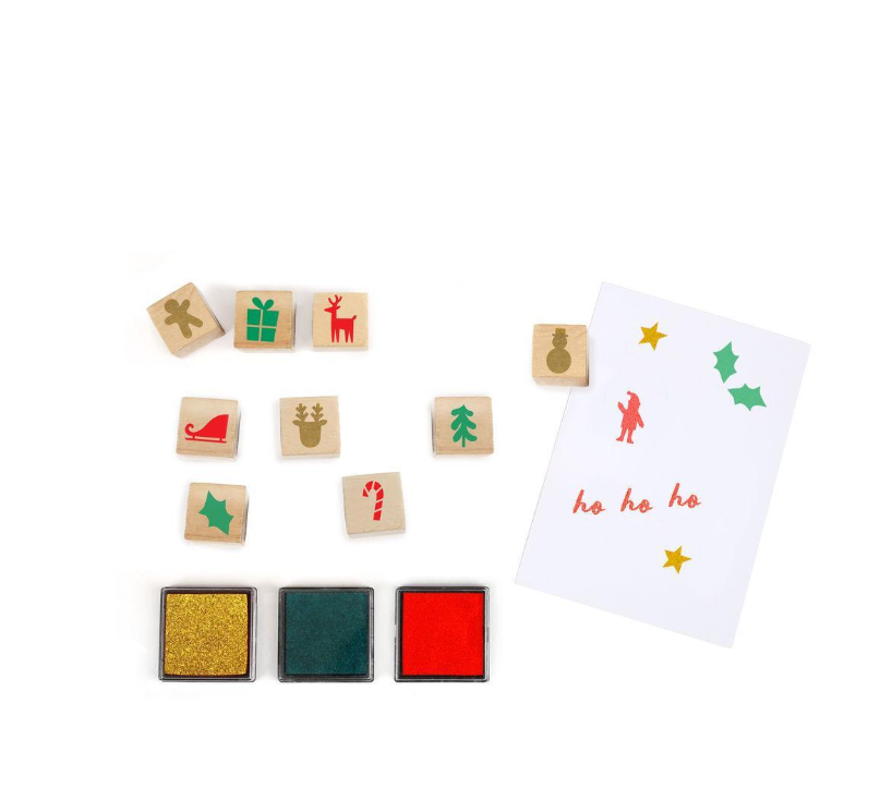 Festive Ink Stamp Advent Calendar