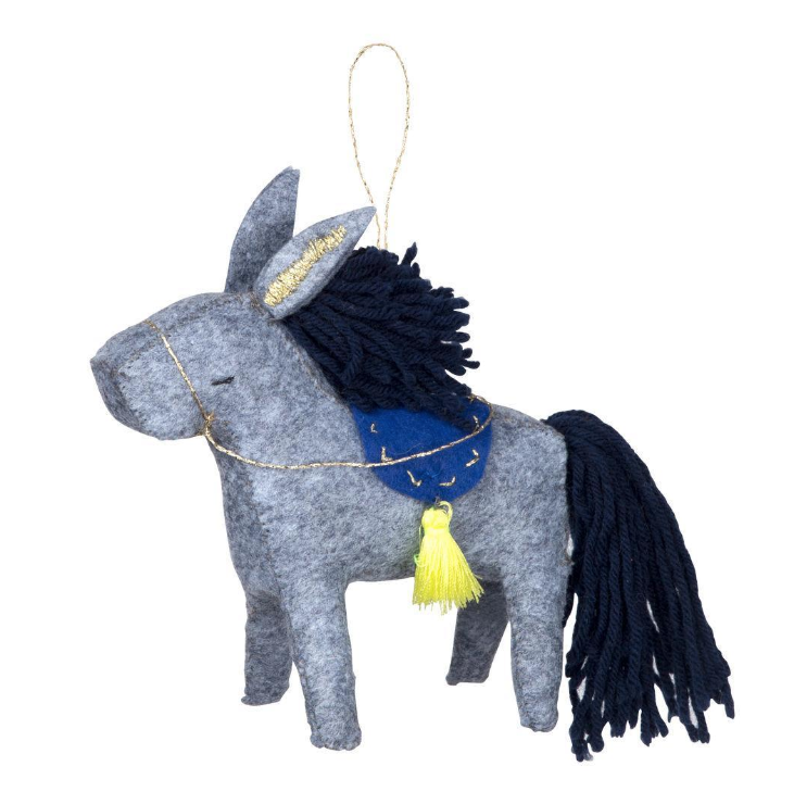 Donkey Tree Ornament