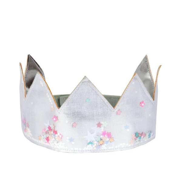 Dress Up Silver Shaker Crown