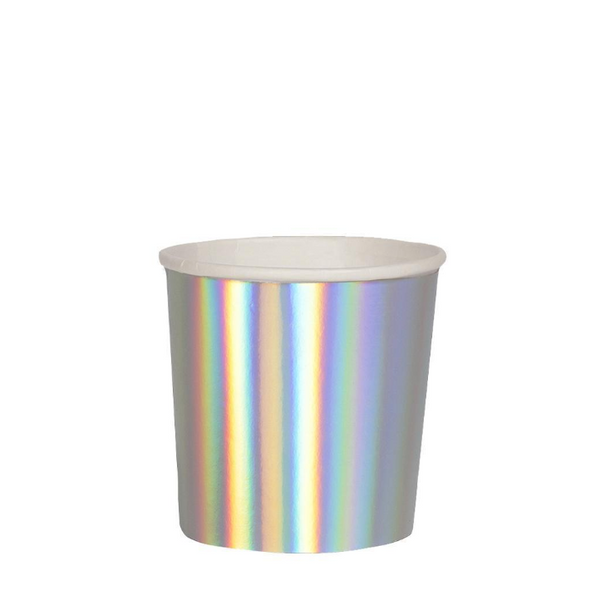 Silver holographic Tumbler  Cup