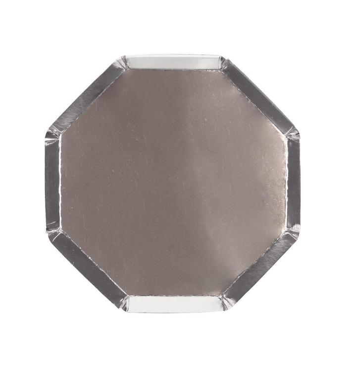 Silver Octagonal Side Plate