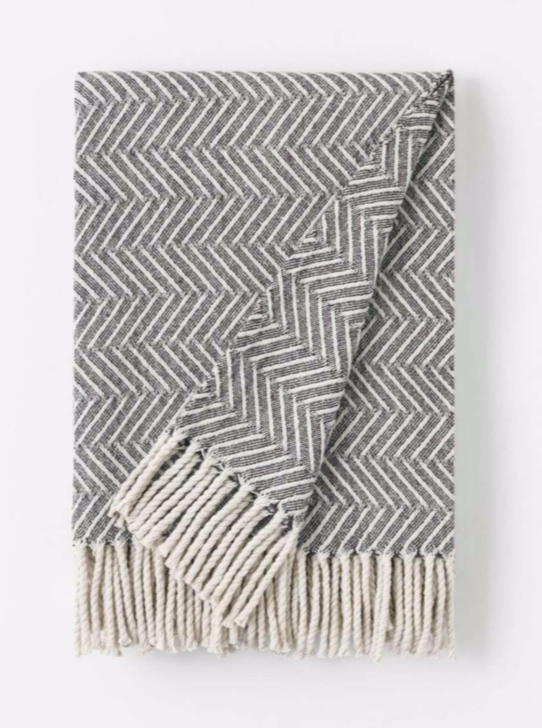 Visual Throw Blanket, available in 2 colors