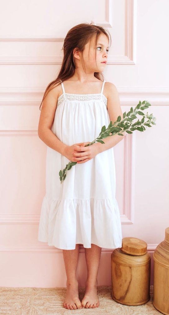 White Lily Nightgown
