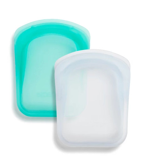 Pocket Storage 2-pack (1 Clear + 1 Aqua)