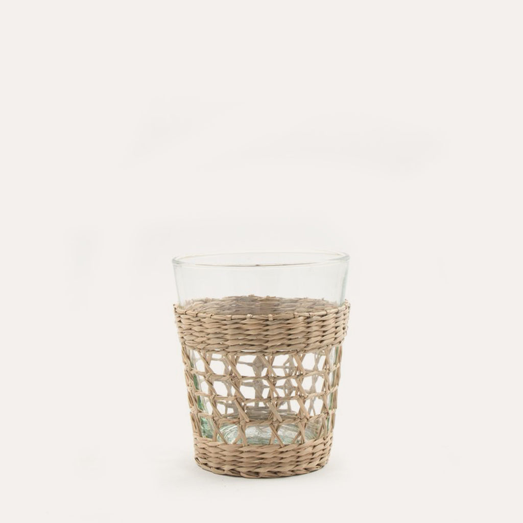 Seagrass Wide Cage Tumbler, small