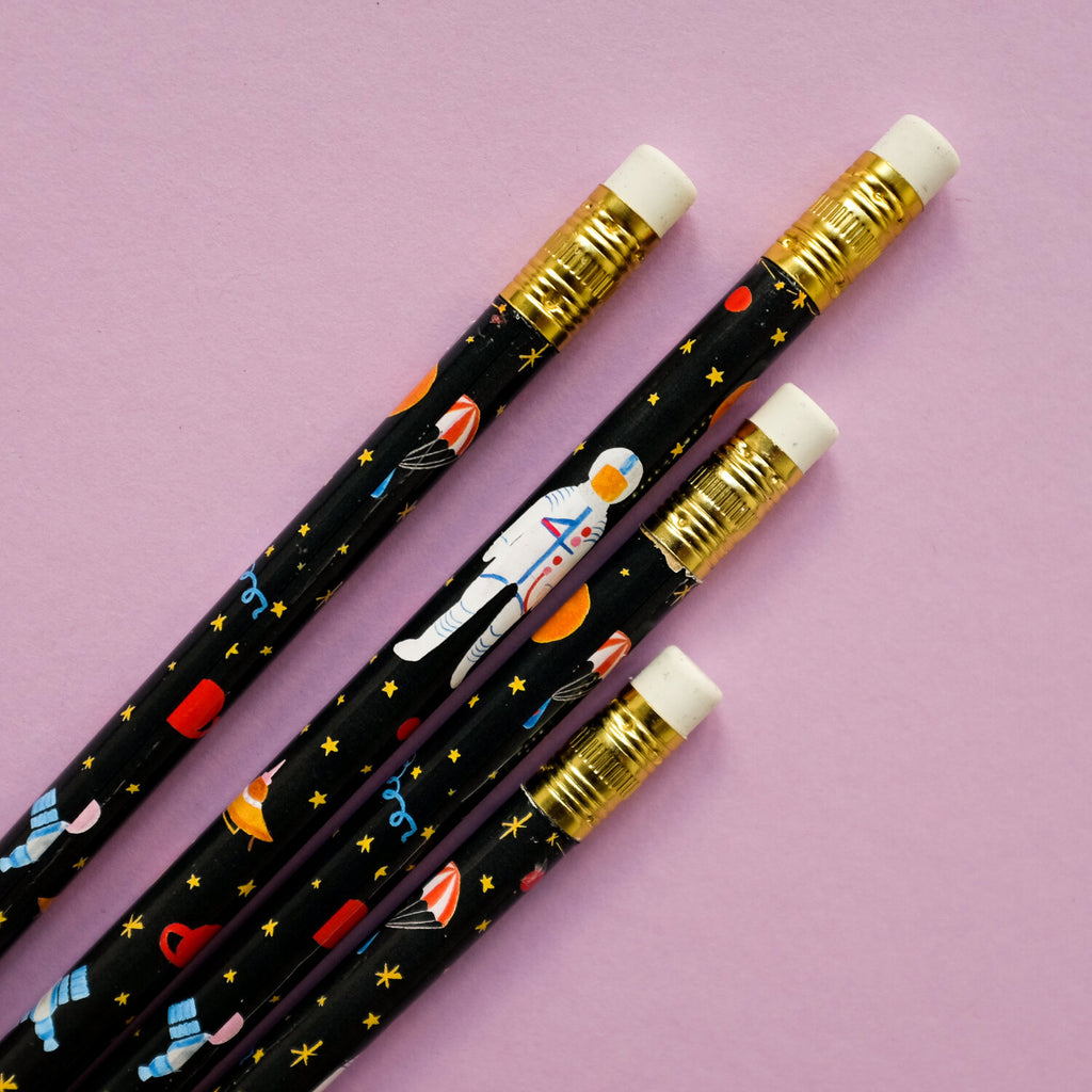 Where is Jupiter? Pencils - Set of 4