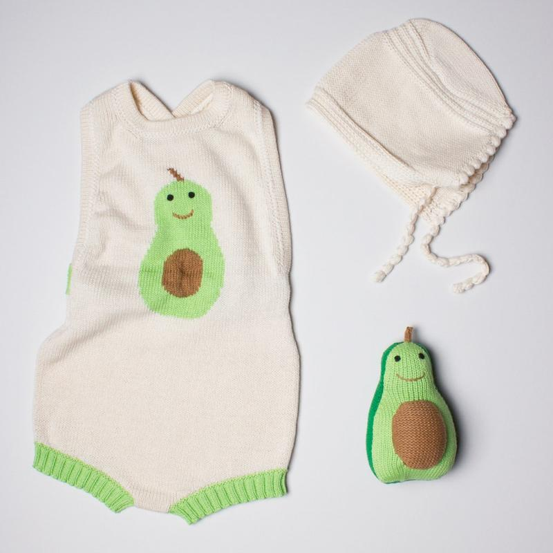 Organic Baby Gift Set - Avocado
