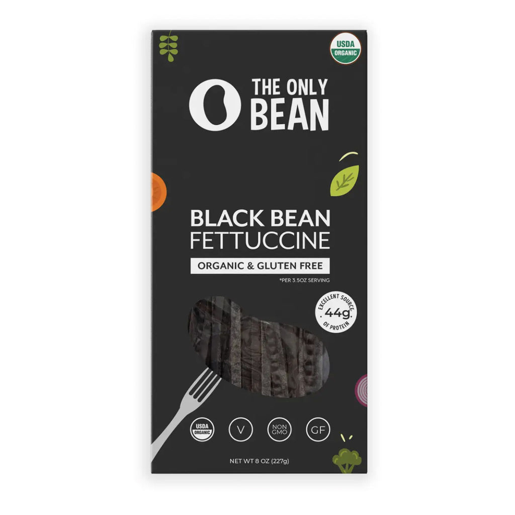 Black Bean Fettuccine