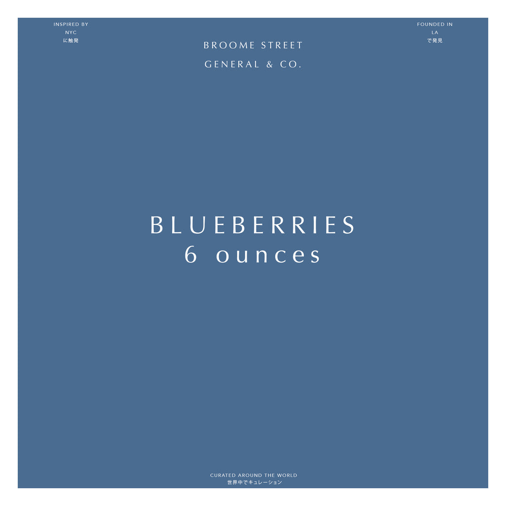 Blueberries - 6oz