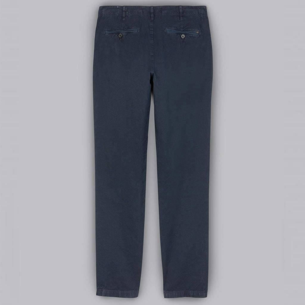 PIMA COTTON CHINO PANT, CARBON BLUE