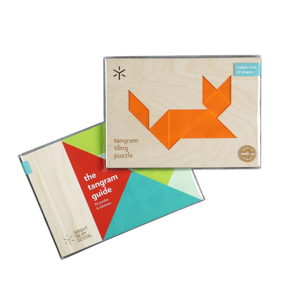 Animal Tangram Puzzles - Cat