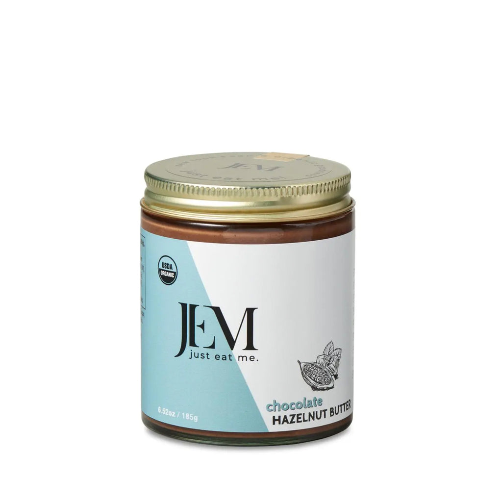 JEM Organics Chocolate Hazelnut Butter, 6.5 oz