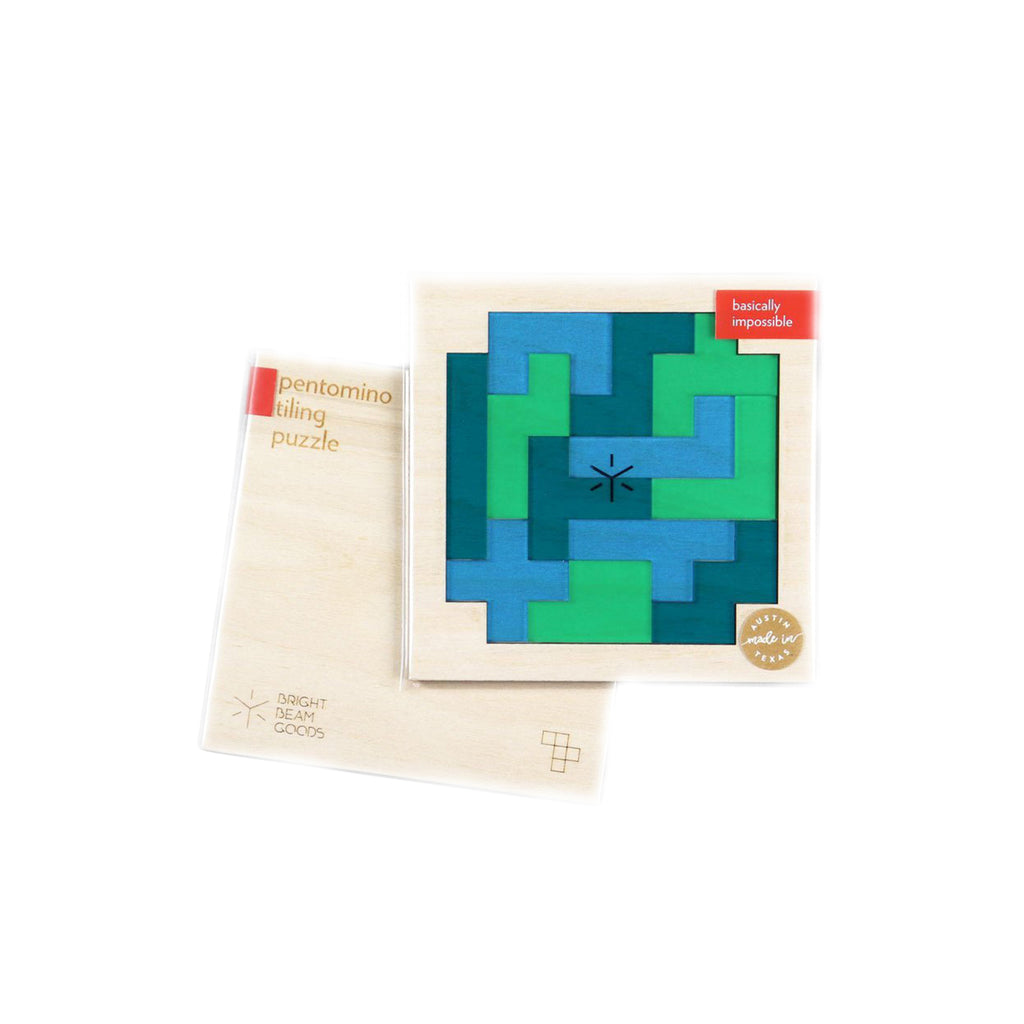Square Pentomino Puzzles - Earth