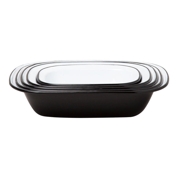 Pie Set, Black
