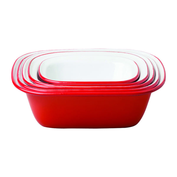 Pie Set, Red