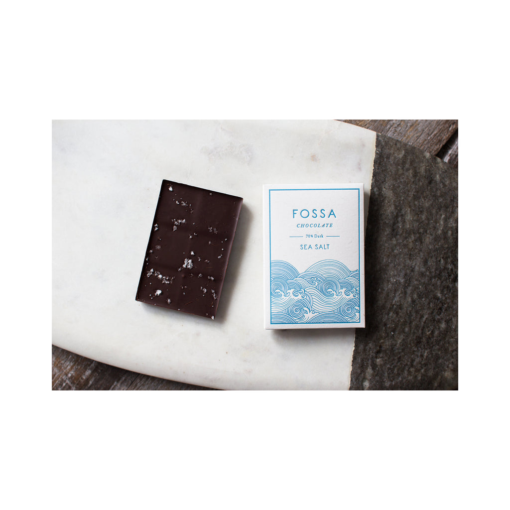 Fossa Sea Salt Dark Chocolate 70%