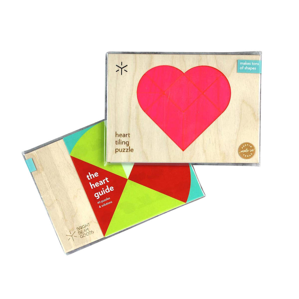 Tangram Puzzles - Heart