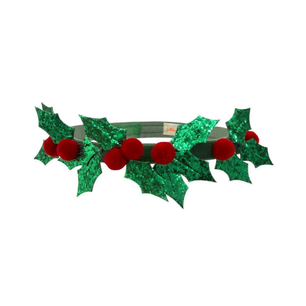 Holly Wreath Headband