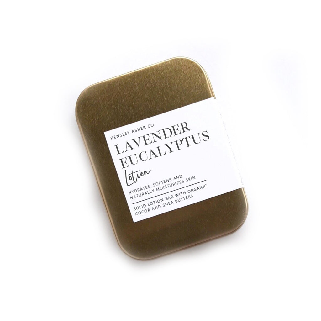 Lavender Eucalyptus Lotion Bar