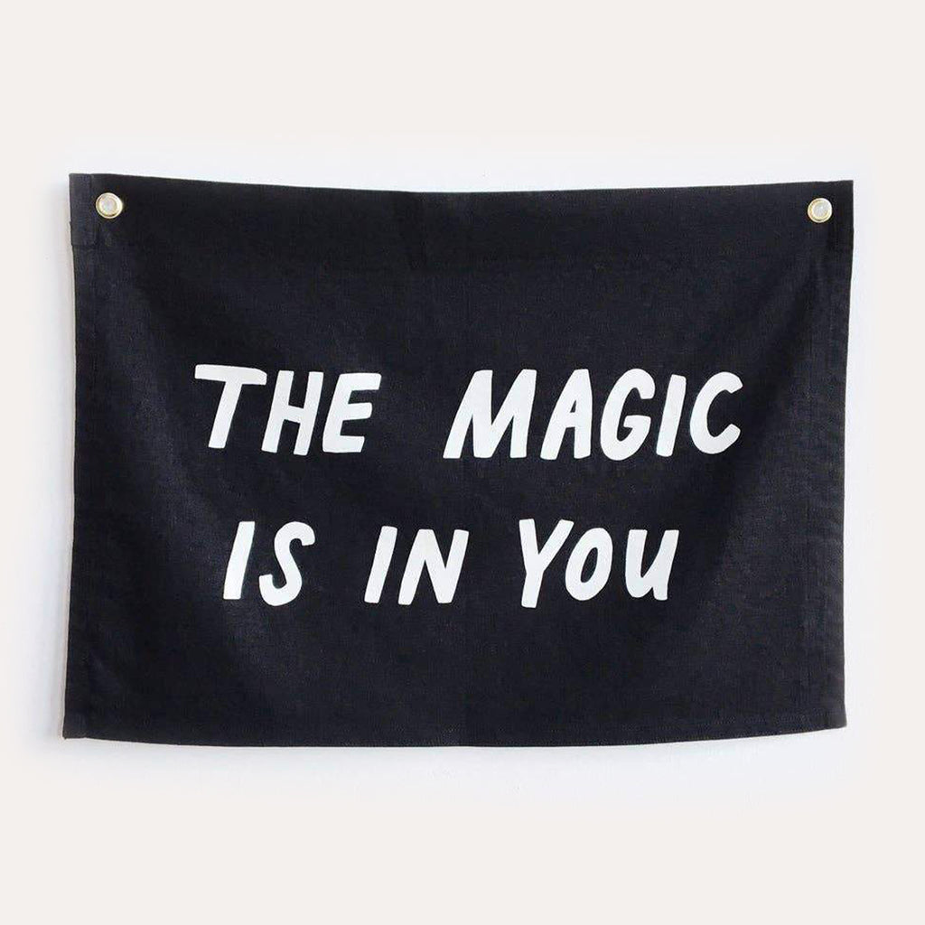 MAGIC Flag / black, printed
