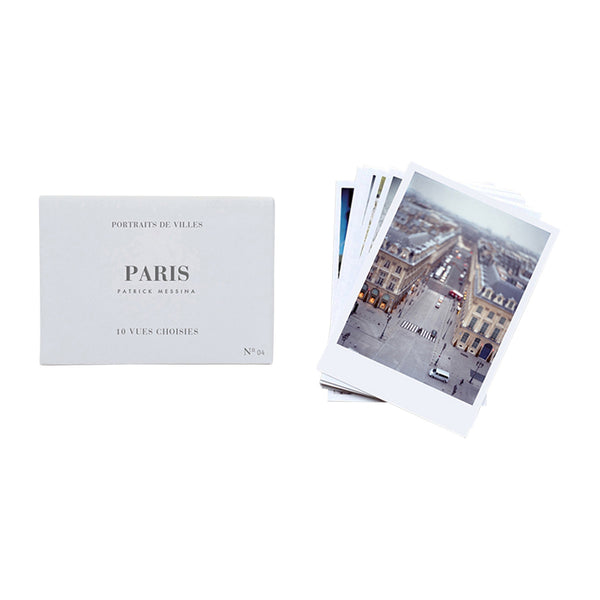 Portraits De Villes Vues Choisies (Postcards), Paris