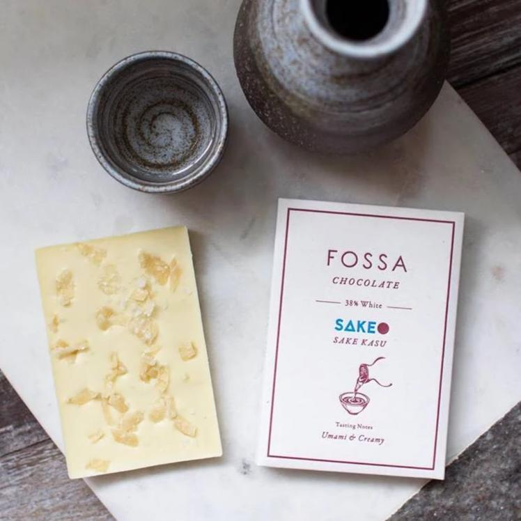 Fossa Sake Kasu White Chocolate 38% (Limited Edition)