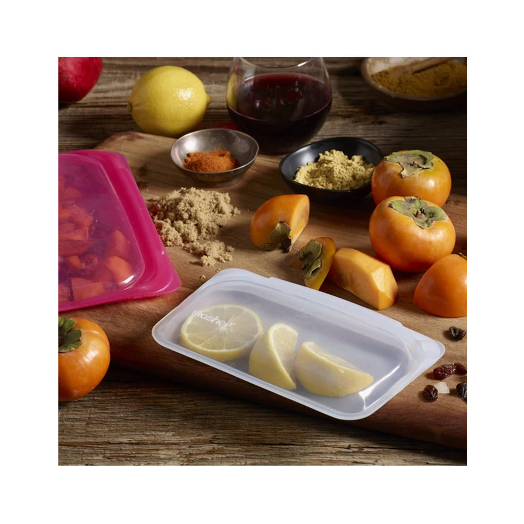 Snack: Silicone Storage, Clear