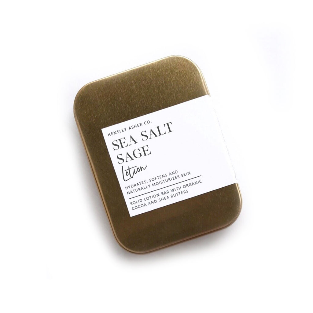Sea Salt Sage Lotion Bar