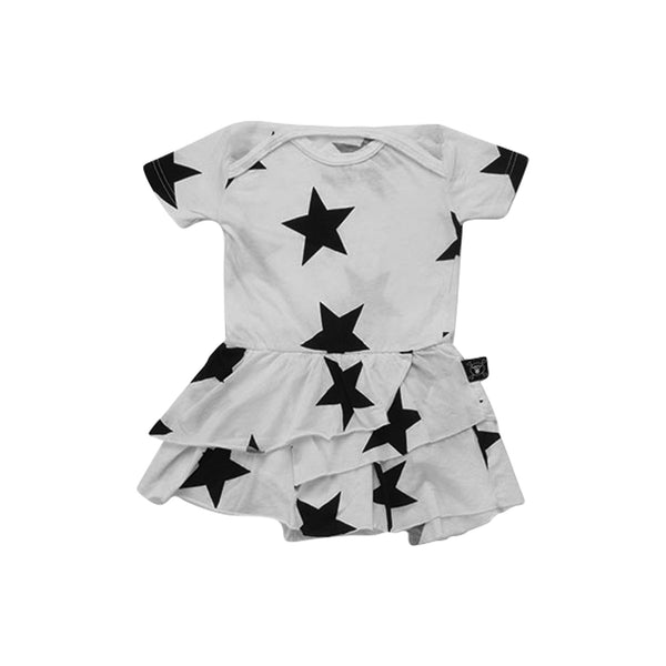 White Star Onesie Skirt