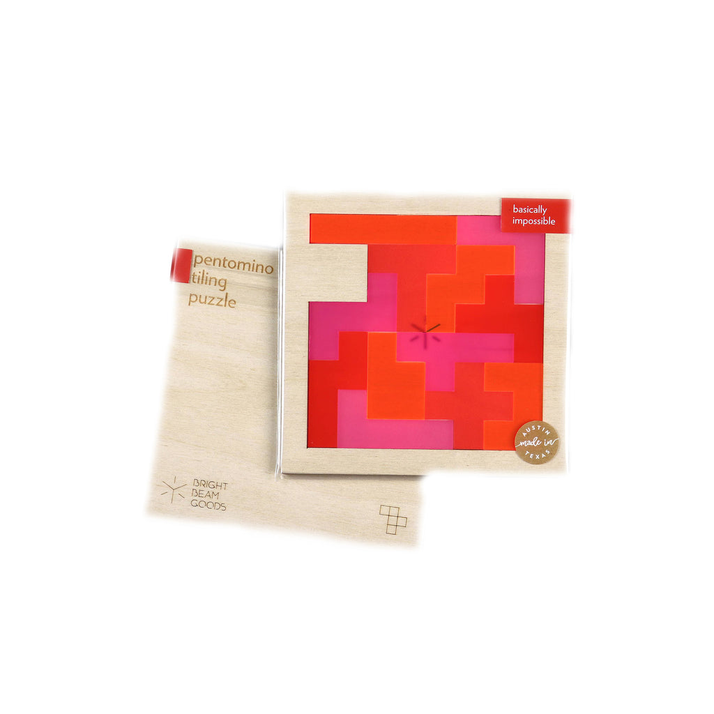 Square Pentomino Puzzles - Strawberry