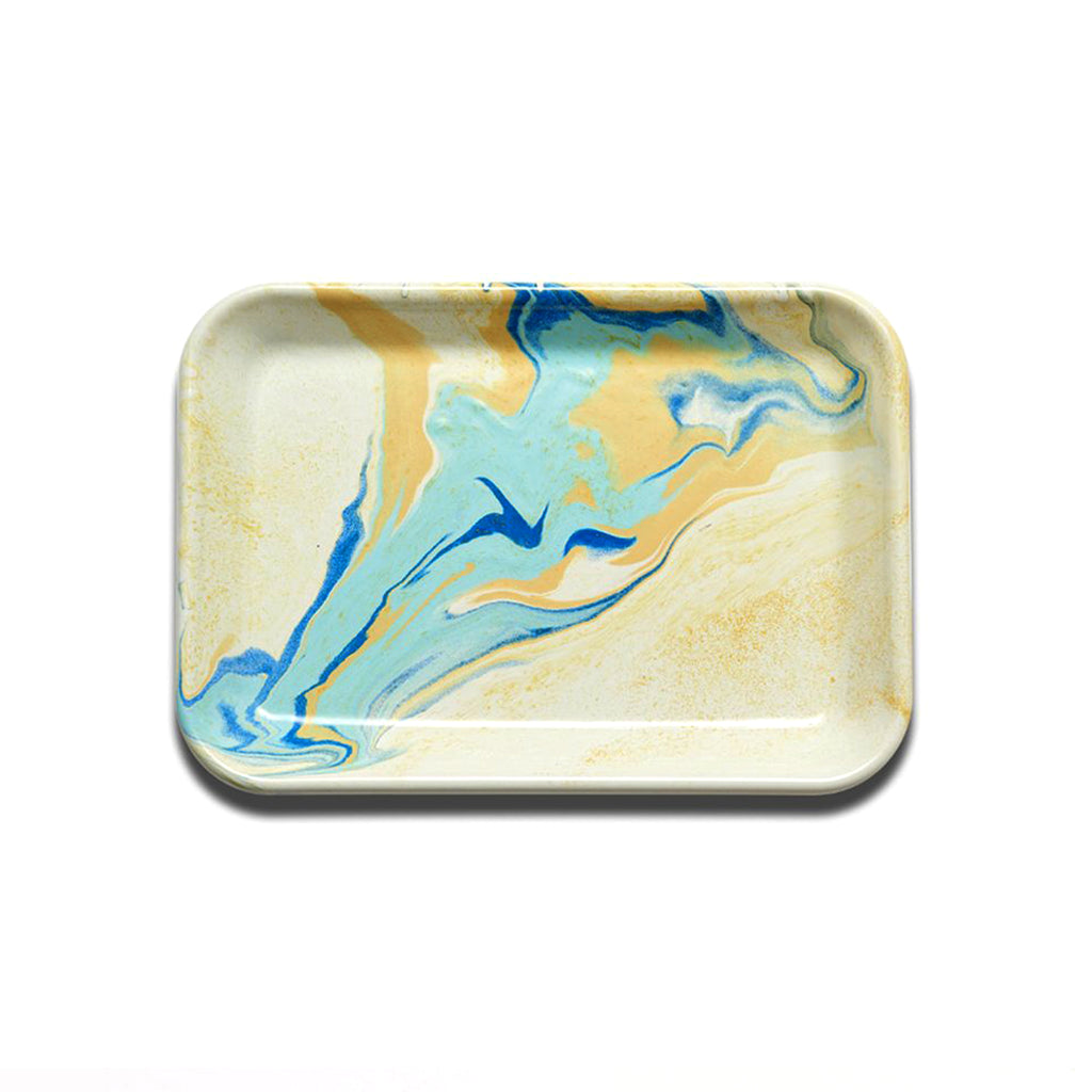 Rectangular Tray - Lemon Cream