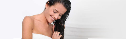 Ayurvedic oils can encourage the growth of healthy, strong, and shiny hair