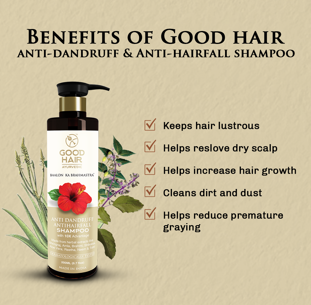 Ayurvedic Hair Shampoo | Hair Care products