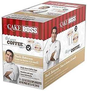 Cake Boss Vanilla Buttercream