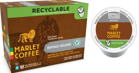 Marley Coffee Buffalo Soldier