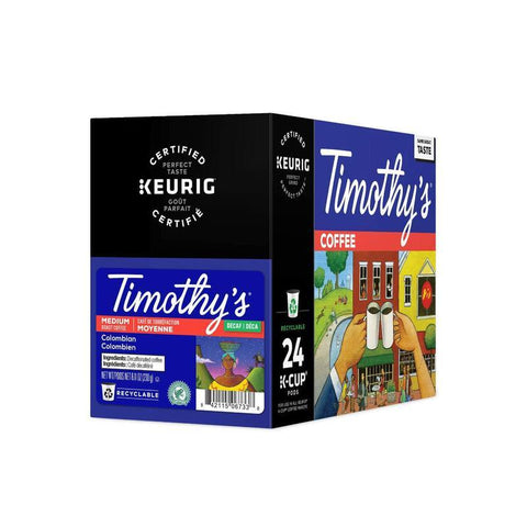 Timothys Decaf Colombian