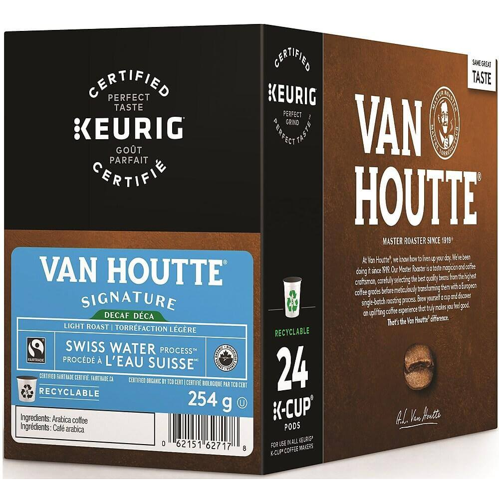 Van Houtte Decaf Swiss Water Process Light