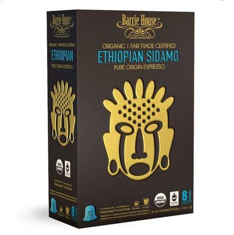 Barrie House Ethiopian Sidamo Nespresso Compatibles