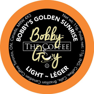 Bobby The Coffee Guy Golden Sunrise