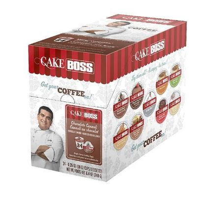 Cake Boss Chocolate Cannoli